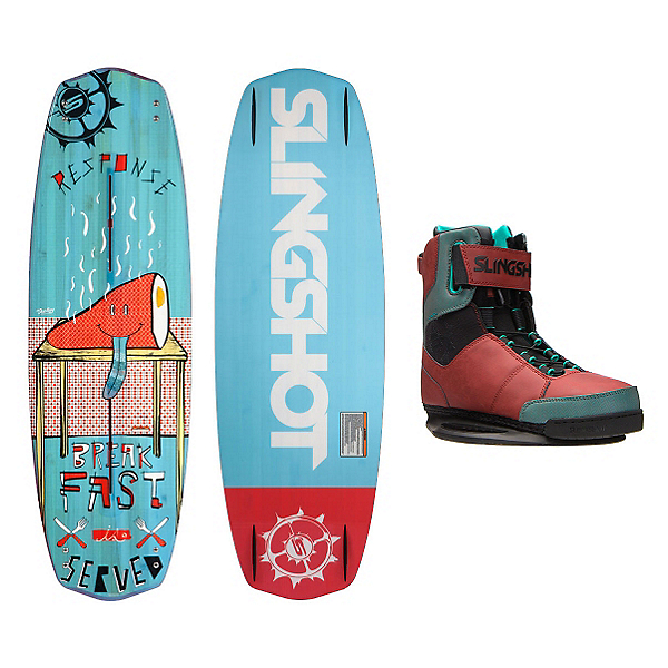 Slingshot Response Wakeboard With R.A.D. Bindings, , 600