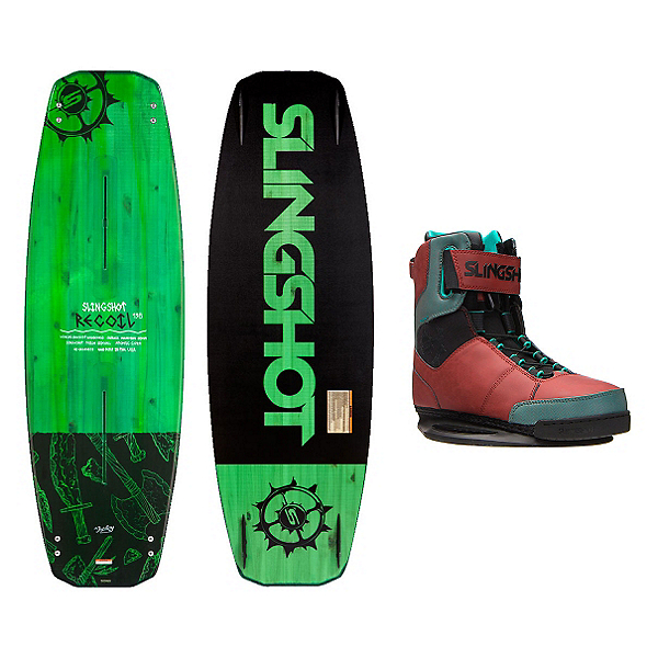 Slingshot Recoil Wakeboard With R.A.D. Bindings, , 600