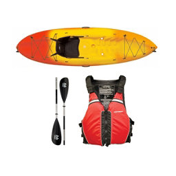 Ocean Kayak Frenzy Kayak - Sport Package, Red-Black, 256