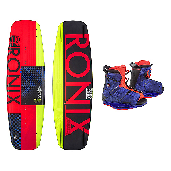 Ronix Quarter Til Midnight Womens Wakeboard With Halo Bindings, , 600