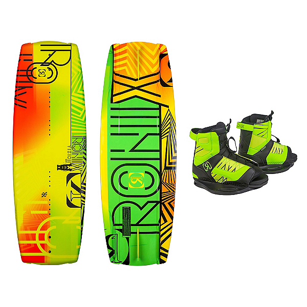 Ronix Vision Kids Wakeboard With Vision Bindings 2016, , 600