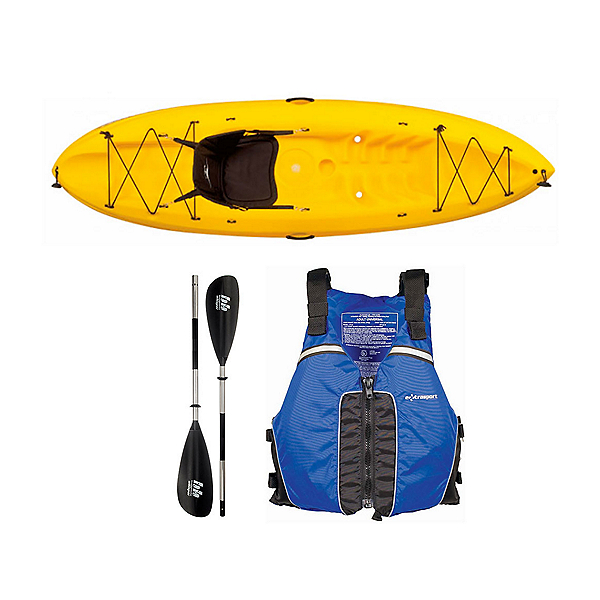 Ocean Kayak Frenzy Kayak Yellow - Sport Package 2016, , 600