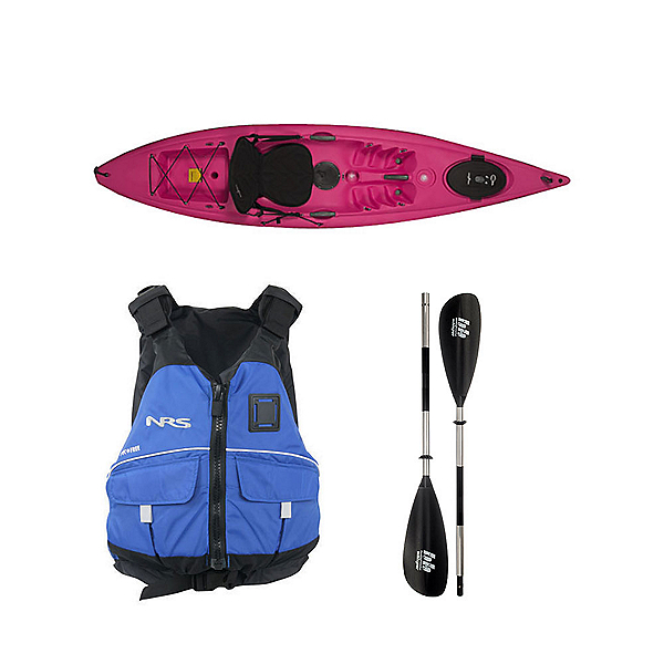 Ocean Kayak Venus 11 Kayak Fuschia - Deluxe Package, , 600