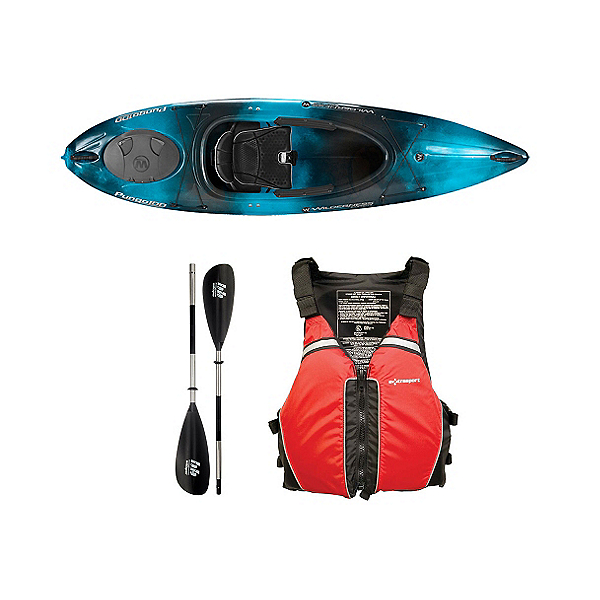 Wilderness Systems Pungo 100 Kayak Midnight - Deluxe Package, , 600