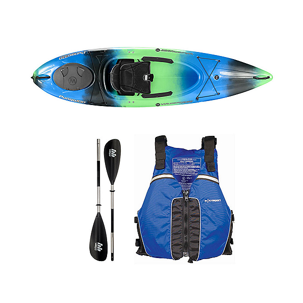 Wilderness Systems Pungo 100 Galaxy Kayak - Deluxe Package, Blue, 600