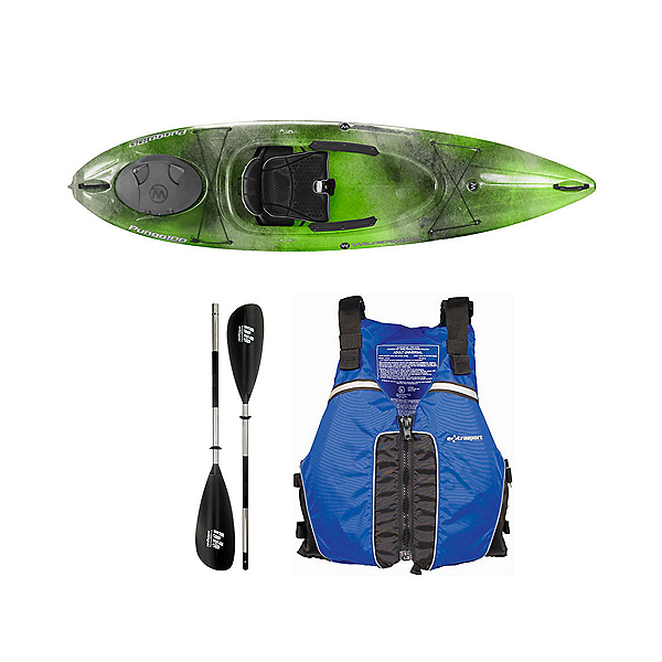 Wilderness Systems Pungo 100 Sonar Kayak - Deluxe Package, , 600