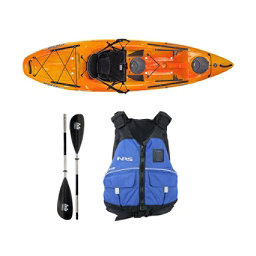 Wilderness Systems Tarpon 100 Mango Kayak - Deluxe Package, , 256
