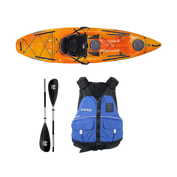 Wilderness Systems Tarpon 100 Mango Kayak - Deluxe Package, , 600