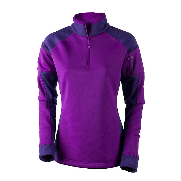 Obermeyer Nova Elite 150wt Zip Womens Mid Layer, Violet Vibe, 600