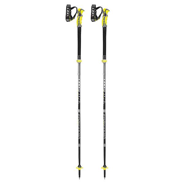 Leki Alpine Stick S Vario Carbon Ski Poles 2018, , 600