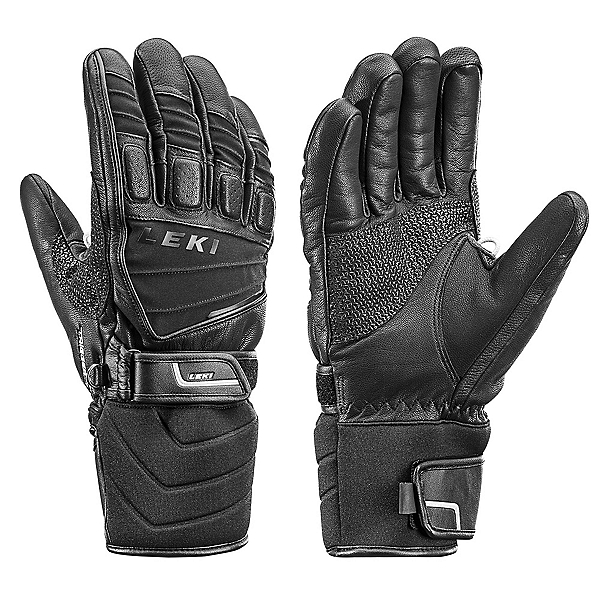Leki Griffin S Gloves, Black, 600