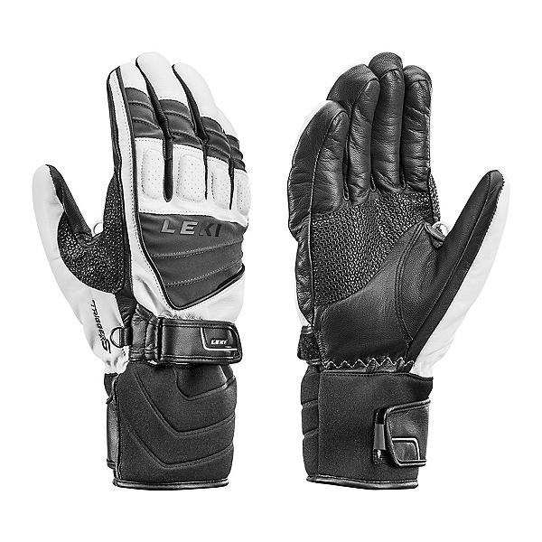 Leki Griffin S Gloves, White-Black-Gray, 600