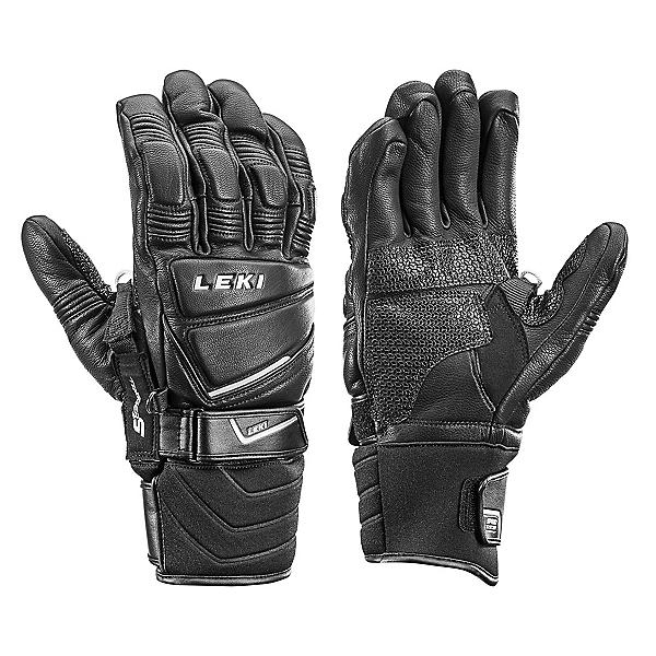 Leki Griffin Pro S Speed System Gloves, Black, 600