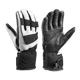 Leki Griffin S Lady Womens Gloves, Black-White, 256