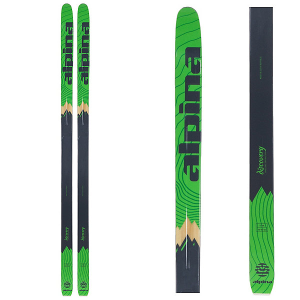 Alpina Discovery 68 Cross Country Skis, , 600