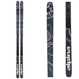 Alpina Control 64 Edge NIS Cross Country Skis, Black-White, 256