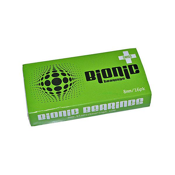 Atom Skates Bionic Swiss 8mm Skate Bearings, , 600