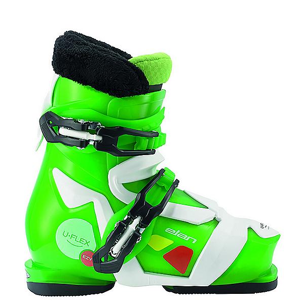 Elan Ezyy 2 Kids Ski Boots, Green, 600