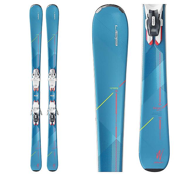 Elan Delight Supreme Womens Skis with ELW 10.0 Bindings, , 600