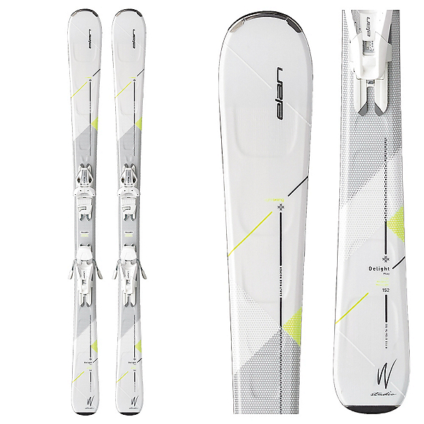 Elan Delight Style Womens Skis with ELW 9.0 Bindings, , 600