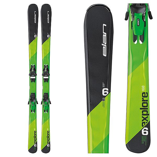 Elan Explore 6 Skis with EL 10.0 Bindings, , 600