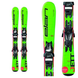 Elan Jett Kids Skis with EL 4.5 Bindings 2018, , 256