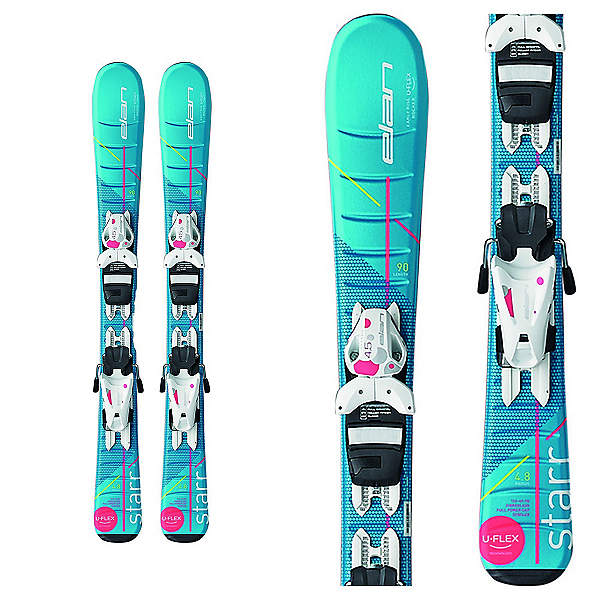 Elan Starr Kids Skis with EL 4.5 Bindings, , 600