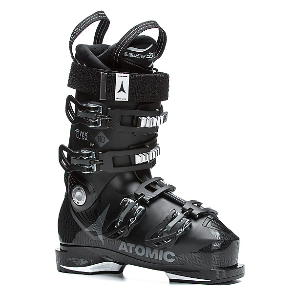 Atomic Hawx Ultra 80 W Womens Ski Boots 2018, Black-Anthracite, 600