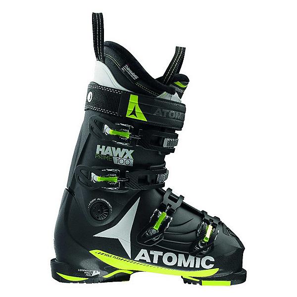 Atomic Hawx Prime 100 Ski Boots, Black-Lime-White, 600