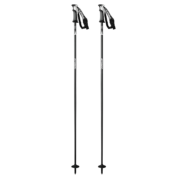 Atomic AMT Carbon Ski Poles, Black, 600