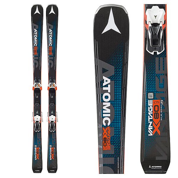 Atomic Vantage X 80 CTI Skis with Warden 13 Bindings 2018, , 600