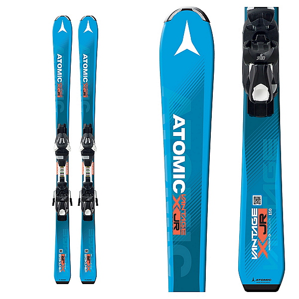 Atomic Vantage Jr. III Kids Skis with EZY 7 Bindings 2017, , 600