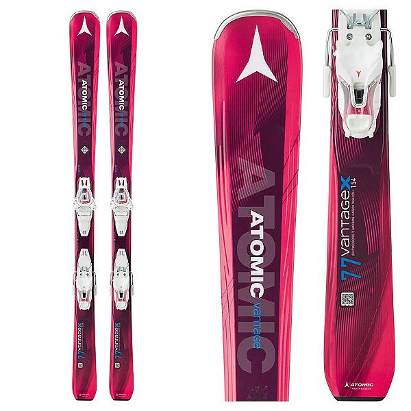 Atomic Vantage X 77 CTI Womens Skis with Lithium 10 Bindings, , 600