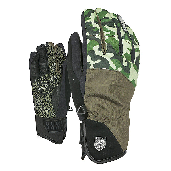Level Suburban Gloves, Olive Green, 600