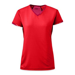 Outdoor Research Octane Womens T-Shirt, Flame-Scarlet, 256
