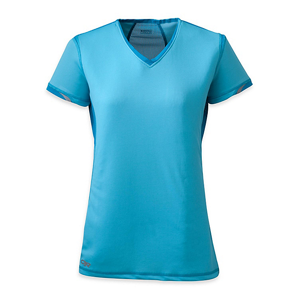 Outdoor Research Octane Womens T-Shirt, Rio-Hydro, 600