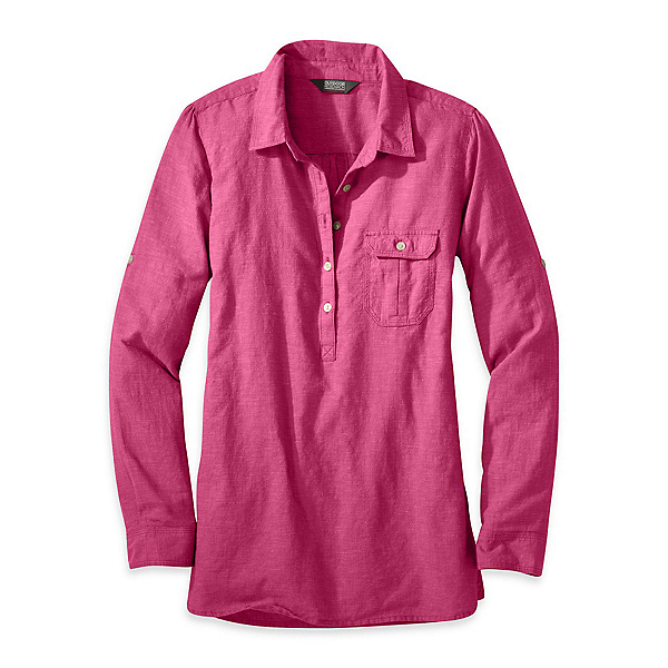 Outdoor Research Coralie Long Sleeve Womens Shirt, Sangria, 600