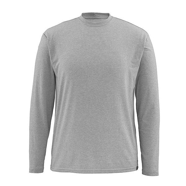 Simms Bugstopper Tech LS Mens Shirt, Smoke, 600