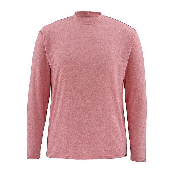 Simms Bugstopper Tech LS Mens Shirt, Brick, 600