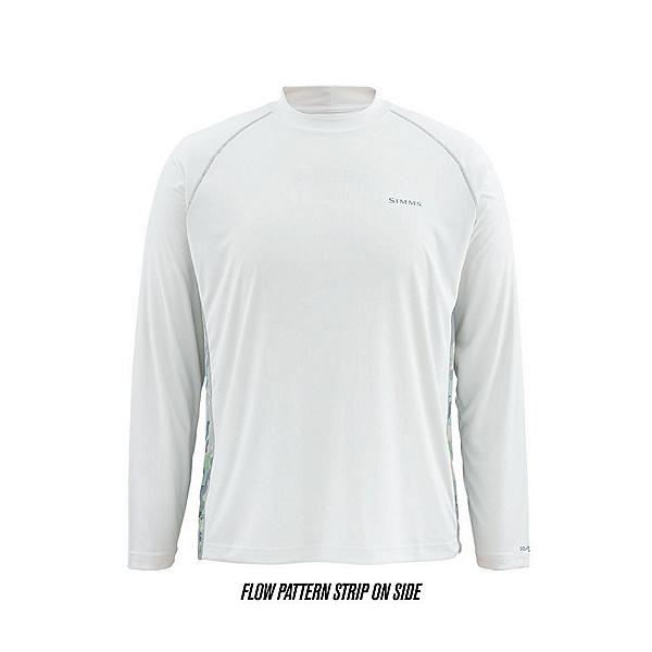 Simms Solarflex LS Print Mens Shirt, , 600