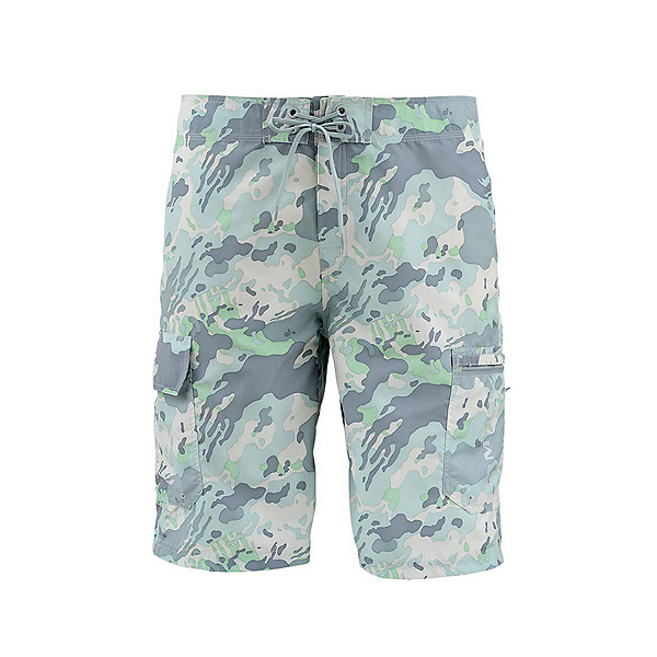 Simms Surf Print Mens Board Shorts, , 600