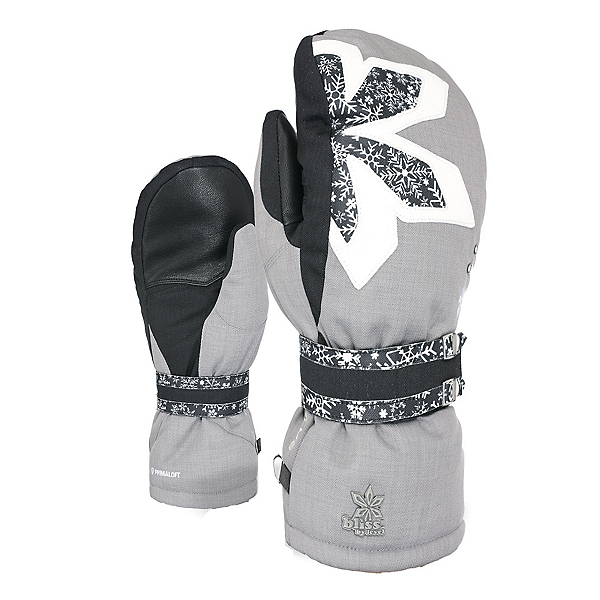 Level Bliss Oasis Womens Mittens, Logos, 600