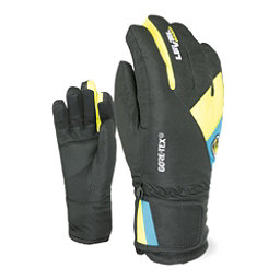 Level Force Kids Gloves, Black-Yellow, 256
