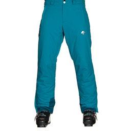 Descente Stock Mens Ski Pants, Teal Blue-Morrocan Blue, 256