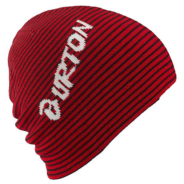 Burton Marquee Kids Hat, Process Red-True Black, 600