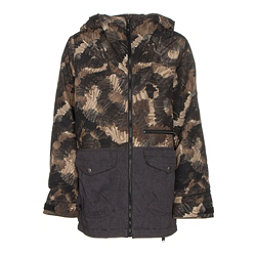 Burton Ace Boys Snowboard Jacket, Marker Camo-True Black, 256
