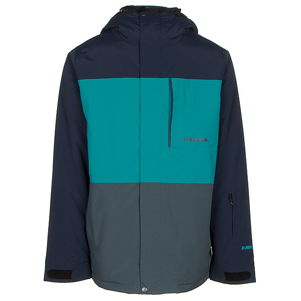 Armada Mantle Mens Insulated Ski Jacket, Navy, 600