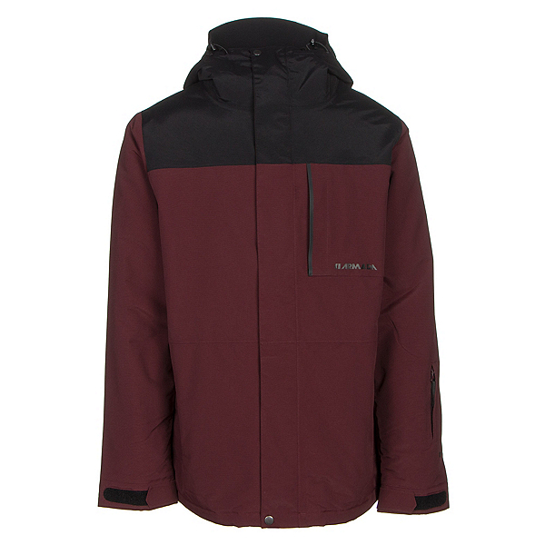 Armada Mantle Mens Insulated Ski Jacket, Burgundy, 600