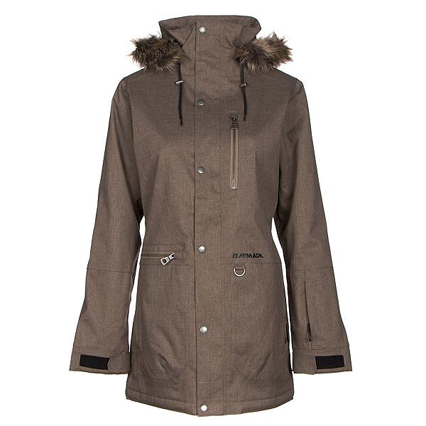 Armada Lynx w/Faux Fur Womens Insulated Ski Jacket, , 600