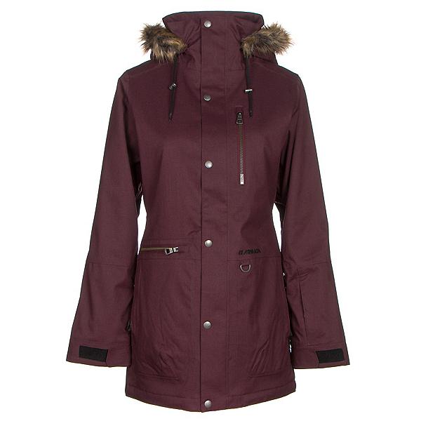 Armada Lynx w/Faux Fur Womens Insulated Ski Jacket, Fig, 600